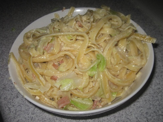 Cheesy Bacon and Cabbage Pasta - Best Recipes