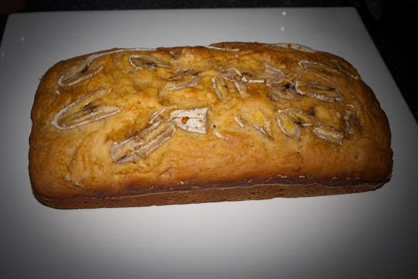 Easy Low Fat Banana Bread 120
