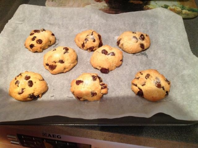 Melt And Mix Rock Cakes