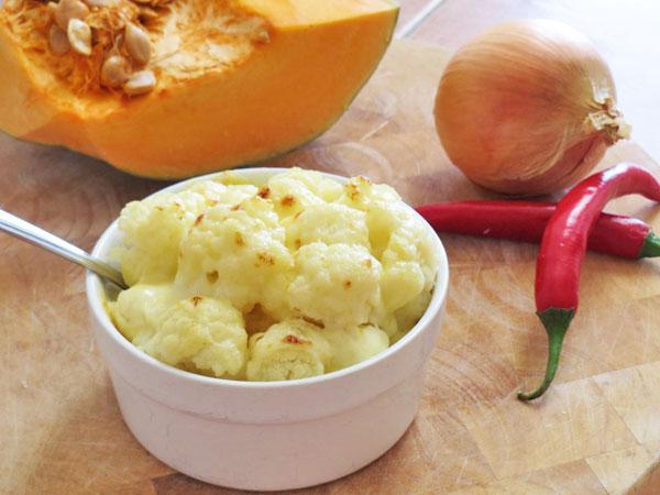 Baby Food Cauliflower Cheese