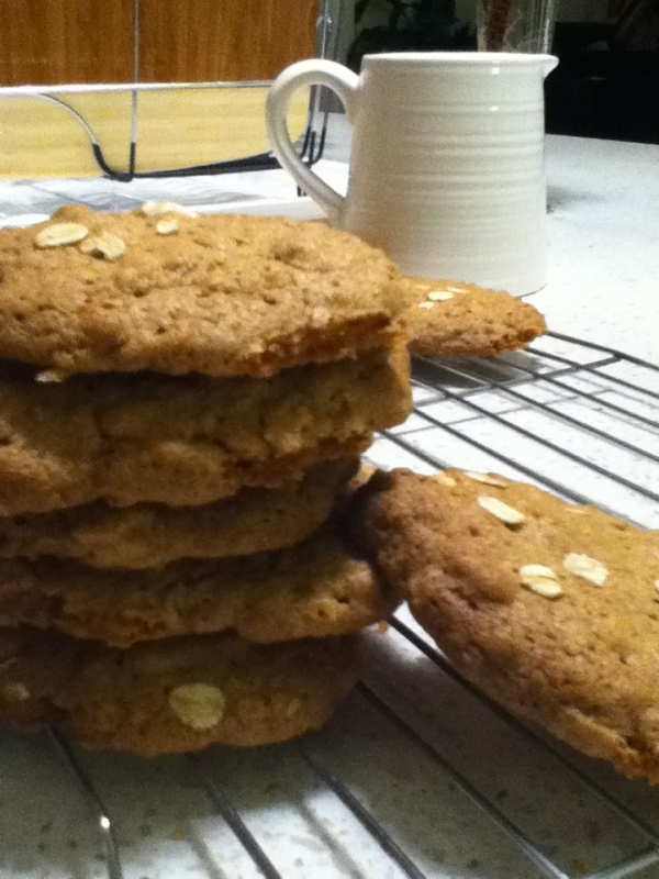 Maple, Oat and Cinnamon Cookies recipe - Best Recipes