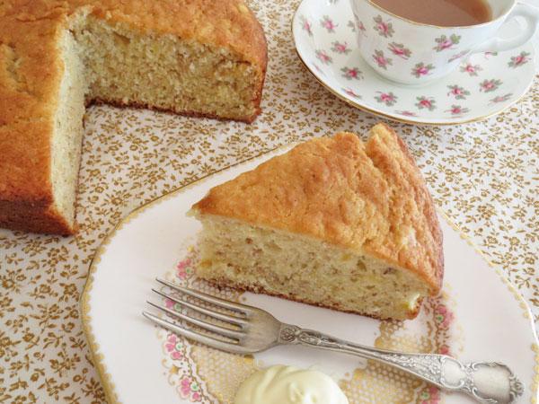 Healthy Banana Cake No Butter