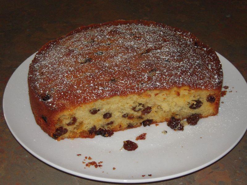Easy Moist Sultana Cake Recipe