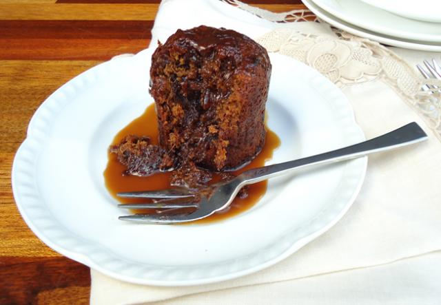 Individual Steamed Chocolate Puddings