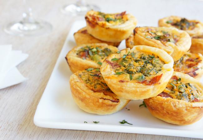 salami tartlets recipe  best recipes
