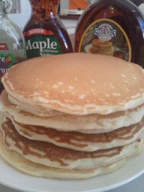how to cook american pancakes
