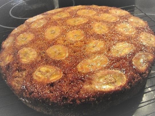 Banana Toffee Cake Ingredients
